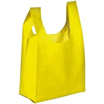Picture of NON WOVEN SHOPPER TOTE BAG in Yellow