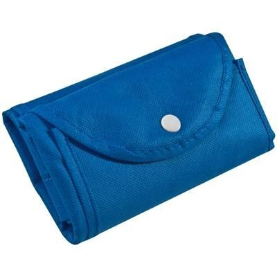 Picture of FOLDING NON WOVEN SHOPPER TOTE BAG in Blue