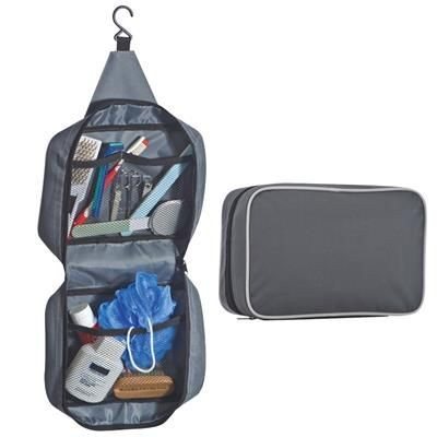 Picture of POLYESTER WASH BAG with Practical Hook