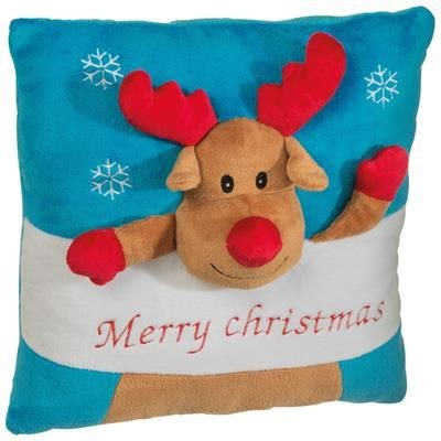 Picture of PLUSH CHRISTMAS PILLOW with Different Design
