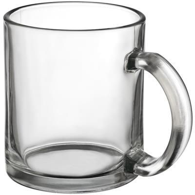 Picture of GLASS COFFEE MUG in Clear Transparent