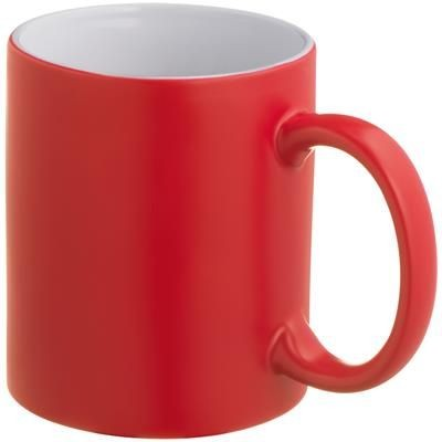 Picture of COLOUR CHANGING MUG in Red