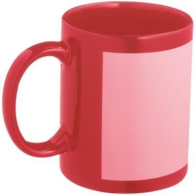 Picture of SUBLIMATION MUG in Red