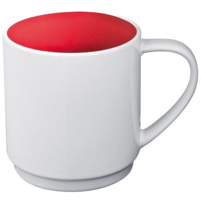 Picture of CERAMIC POTTERY MUG in Red