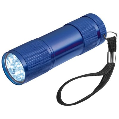Picture of ALUMINIUM METAL LED TORCH in Blue
