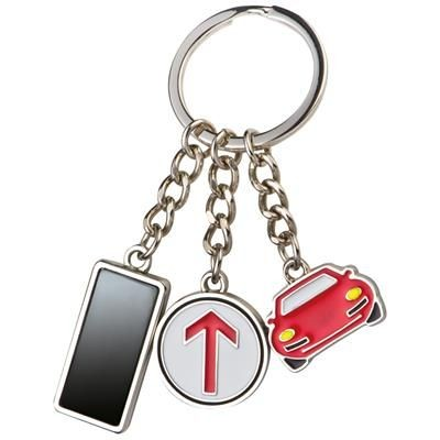 Picture of METAL KEYRING with 3 Charms