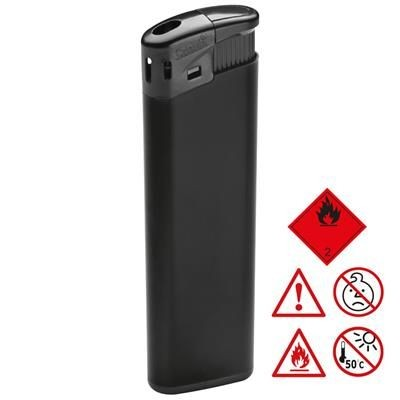 Picture of ELECTRONIC PLASTIC LIGHTER in Black