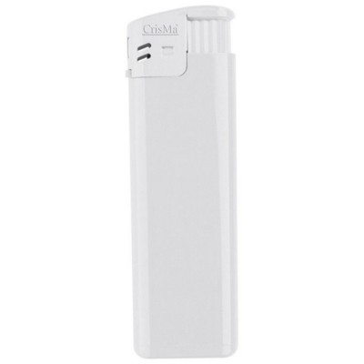 Picture of ELECTRONIC REFILLABLE POCKET LIGHTER in White