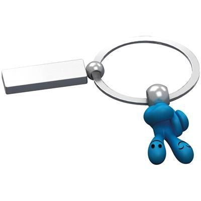 Picture of SMILE HANDS KEYRING in Turquoise