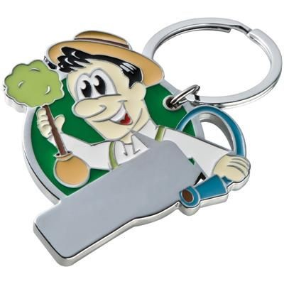 Picture of MANIKIN KEYRING in Green