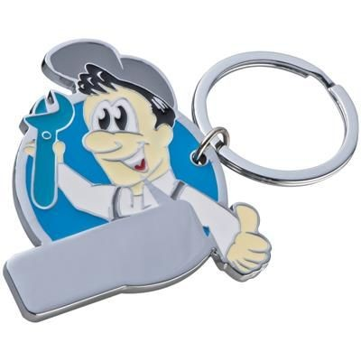 Picture of MANIKIN KEYRING in Turquoise