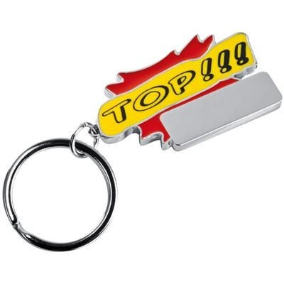 Picture of TOP KEYRING in Red