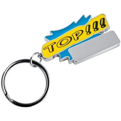 Picture of TOP KEYRING in Light Blue