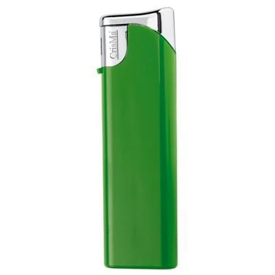 Picture of ELECTRONIC PLASTIC LIGHTER in Green