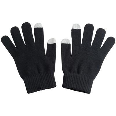 Picture of TOUCH SCREEN ACRYLIC GLOVES in Black