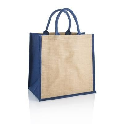Picture of BRECON JUTE REUSABLE ECO BAG with Wipeable Interior