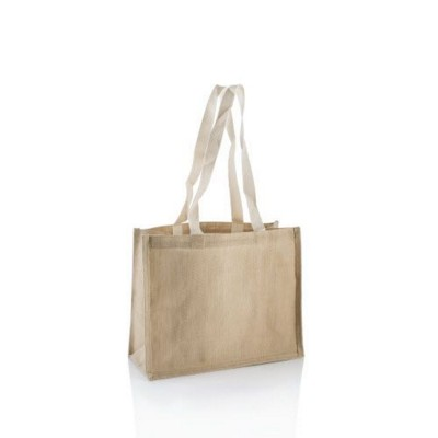 Picture of CHALLENGER JUCO JUTE COTTON REUSABLE BAG FOR LIFE