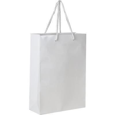 Picture of JUBILEE GLOSS LAMINATED PAPER CARRIER BAG with Rope Handles
