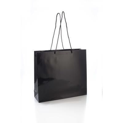 Picture of MAYFLOWER GLOSS LAMINATED PAPER CARRIER BAG with Rope Handles