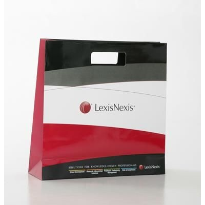 Picture of SCORPION LUXURY PAPER CARRIER BAG with Gloss Finish & Die Cut Handles