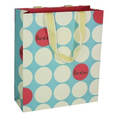 Picture of THRESHER LUXURY PAPER CARRIER BAG with Matt Finish & Short Ribbon Handles