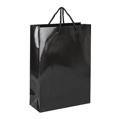 Picture of VICTORY GLOSS LAMINATED PAPER CARRIER BAG with Rope Handles