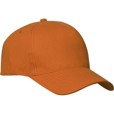 Picture of TEXAS CAP 5 PANEL TWILL CAP with Velcro Adjustment at Back