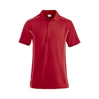 Picture of CONWAY MENS POLO PIQUÉ with Contrast Piping & Tone in Tone Buttons