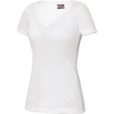 Picture of CLIQUE ARDEN LADIES V NECK STRETCH TOP in Single Jersey