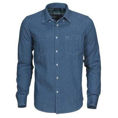 Picture of HARVEST JUPITER DENIM LOOK MENS SHIRT