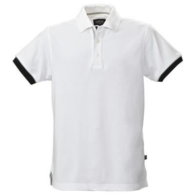 Picture of MENS ANDERSON PIQUE POLO SHIRT with Yarn Dyed Collar