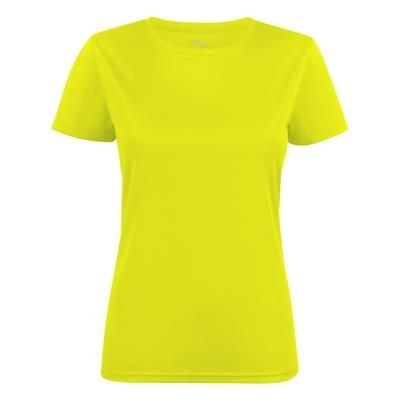 Picture of PRINTER RUN ACTIVE T LADIES ROUNDNECK ACTIVE TEE SHIRT