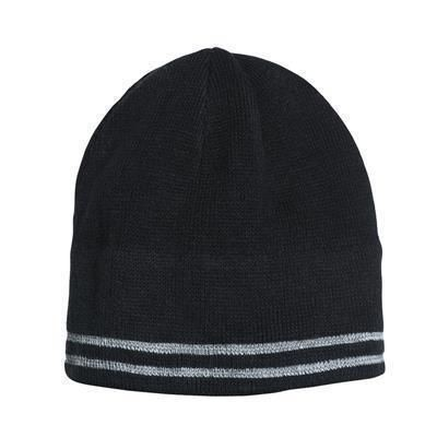 Picture of GROVER REFLECTIVE FINE KNITTED HAT with Six Seams at the Top