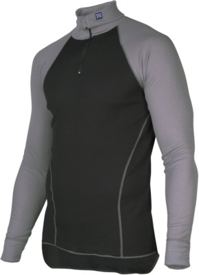 Picture of PROJOB UNDERSHIRT with Polo Neck in Black