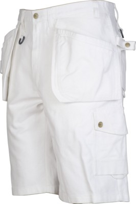 Picture of PROJOB WORK SHORTS in White