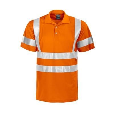 Picture of HIGH VISIBILITY REFLECTIVE PIQUE POLO SHIRT