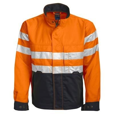 Picture of PROJOB HIGH VISIBILITY REFLECTIVE SAFETY JACKET