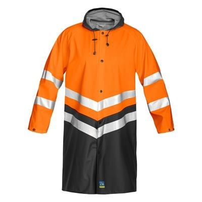 Picture of PROJOB HIGH VISIBILITY REFLECTIVE SAFETY RAIN JACKET