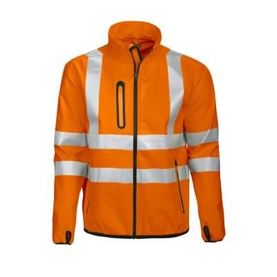 Picture of PROJOB HI VIS SOFTSHELL JACKET