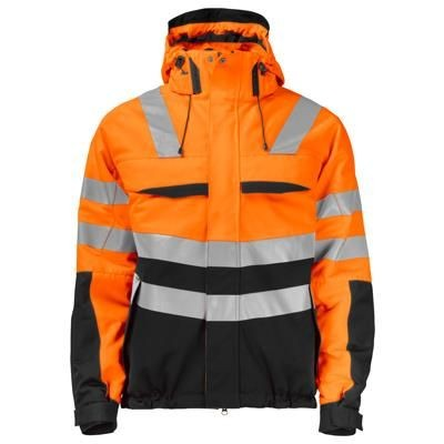 Picture of PADDED HIGH VISIBILITY REFLECTIVE JACKET with Detachable Hood & Transfer Reflectors