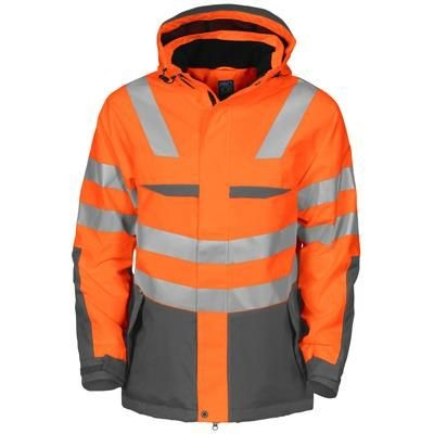 Picture of WIND AND WATERPROOF PADDED HIGH VISIBILITY REFLECTIVE JACKET