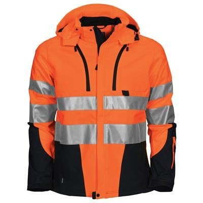 Picture of HIGH VISIBILITY JACKET in Functional Softshell Fabric