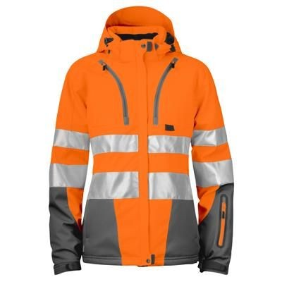 Picture of LADIES HI-VIS JACKET in Functional Softshell Material