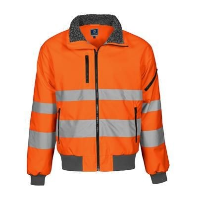 Picture of HIGH VISIBILITY REFLECTIVE PILOT JACKET