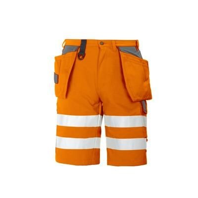 Picture of PROJOB HIGH VISIBILITY REFLECTIVE WORK SAFETY SHORTS