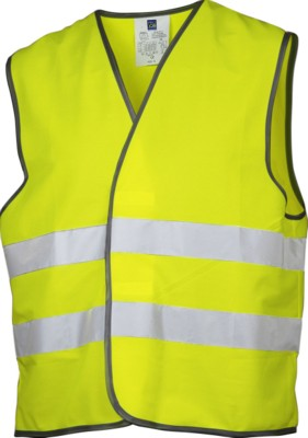 Picture of PROJOB HIGH VISIBILITTY SAFETY VEST in Yellow