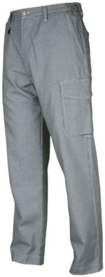 Picture of PROJOB CHEF TROUSERS WITHOUT FRONT PLEAT in Pepita