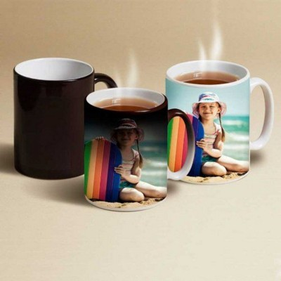 Picture of PERSONALISED HEAT CHANGING MUG