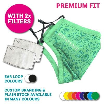 Picture of PREMIUM REUSABLE FACE MASK WITH 2 FILTERS