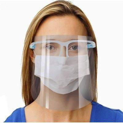 Picture of VISOR MASK with Glasses Frame